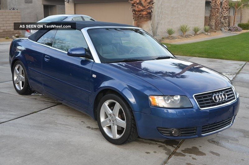 2004 Audi A4 Cabriolet Convertible 2 - Door 1.  8t Cabriolet photo