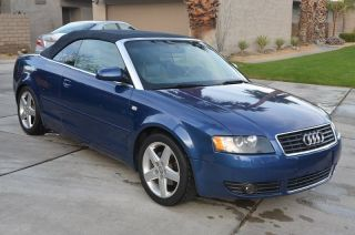 2004 Audi A4 Cabriolet Convertible 2 - Door 1.  8t photo