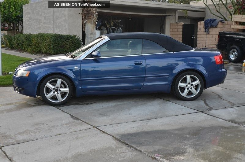 2004 audi a4 cabriolet convertible 2 door 1 8t. Black Bedroom Furniture Sets. Home Design Ideas