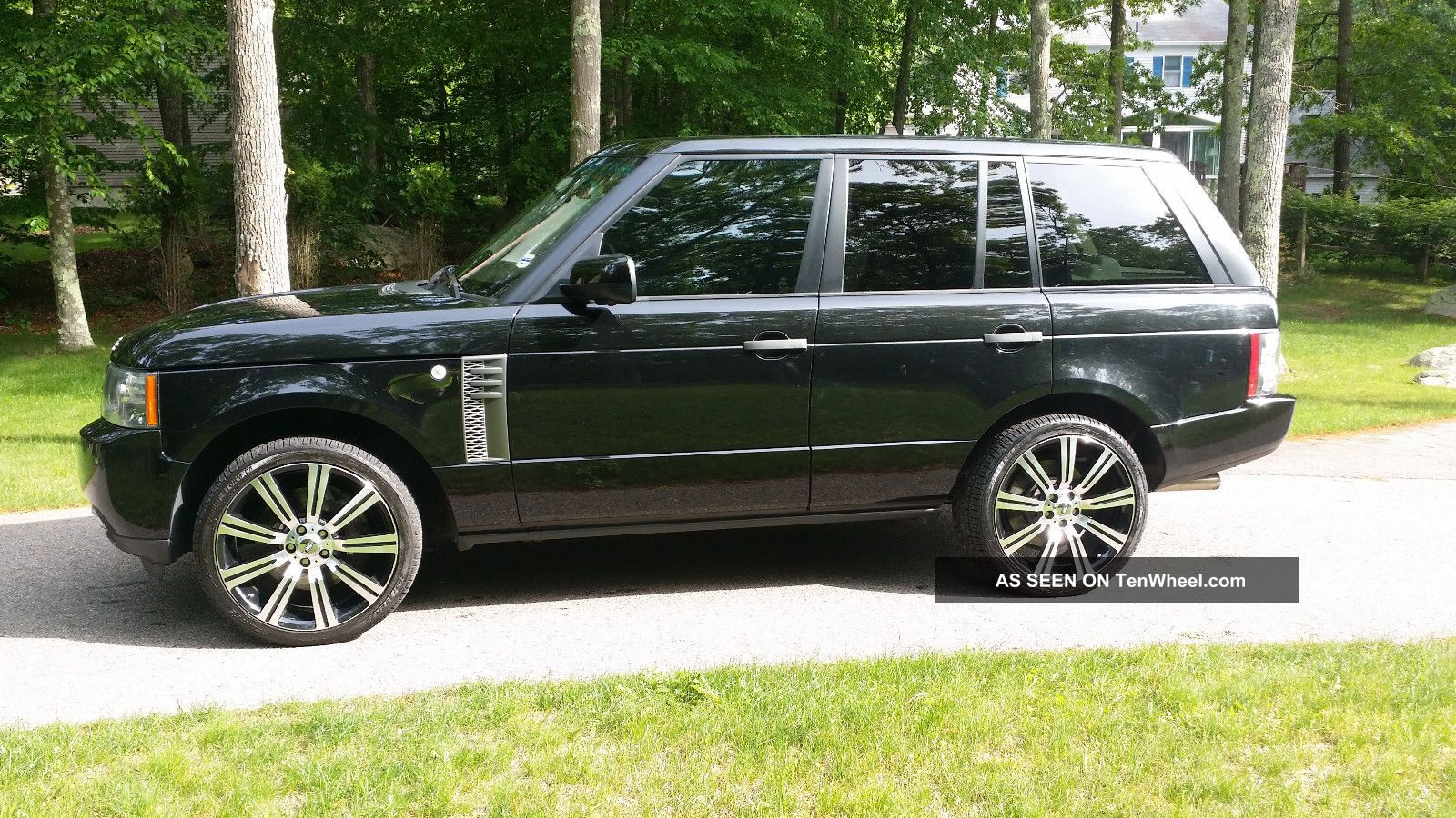 2010 Land Rover Range Rover Supercharged Sport Utility 4 - Door 5.  0l Range Rover photo