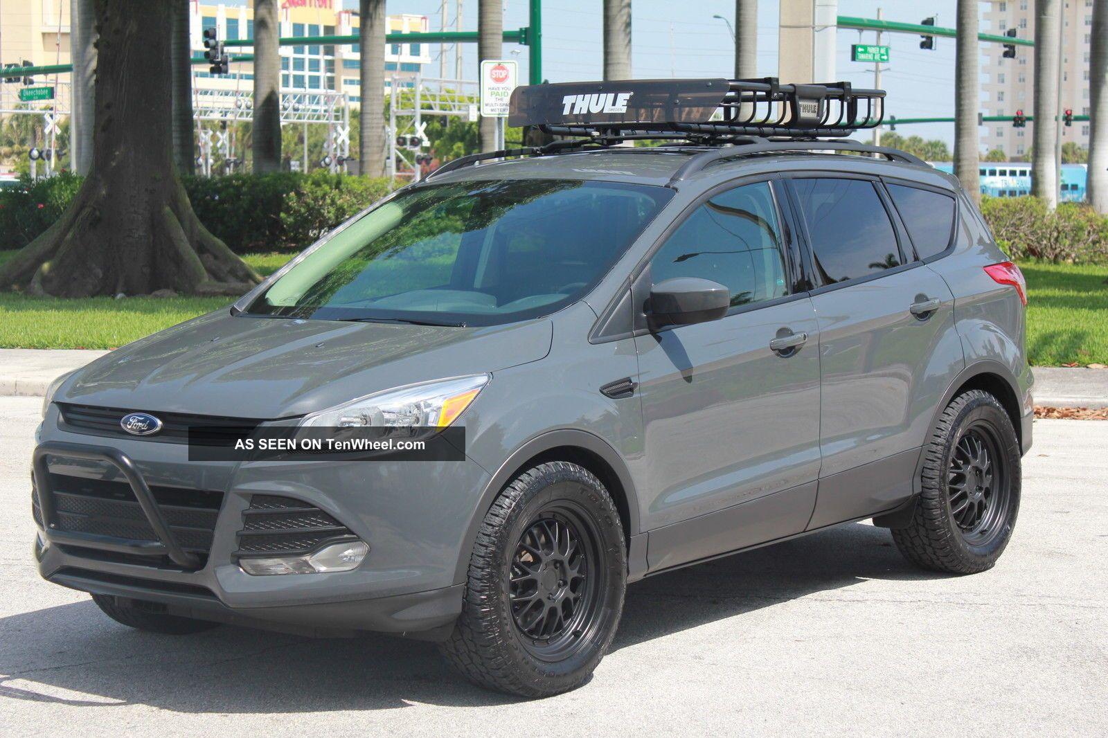 2013 Ford Escape Se (sema Show Vaccar Urban Escape Adventurer) Escape photo