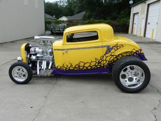 Wicked Yellow 1932 Blown Coupe (over 120k In Receipts) photo