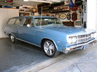 1965 Chevelle Malibu 2 Door Wagon photo