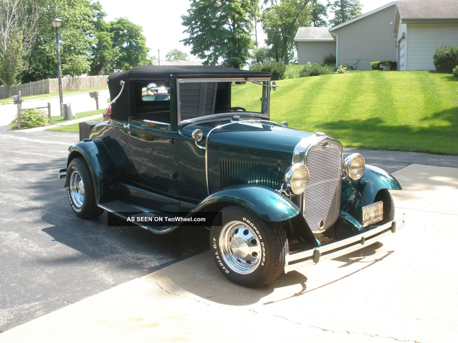 Ford 1930 Model A Cabriolet All Steel Street Rod. Model A photo