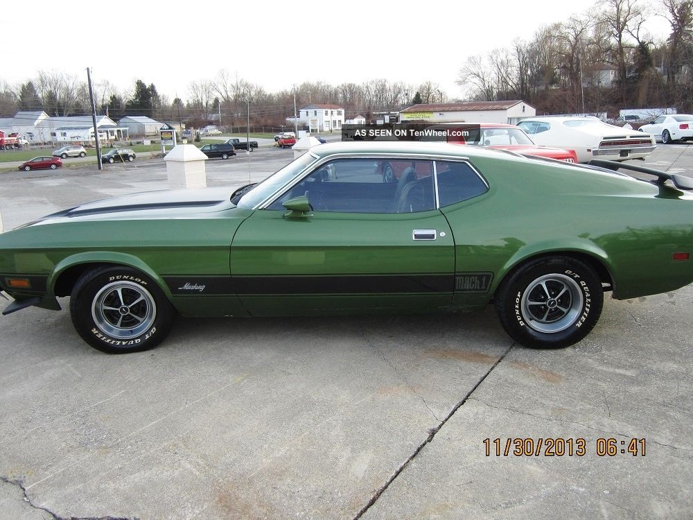 Ford Mach 1 1973 Mustang photo