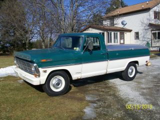 1968 Ford F250 Pickup Camper Special photo